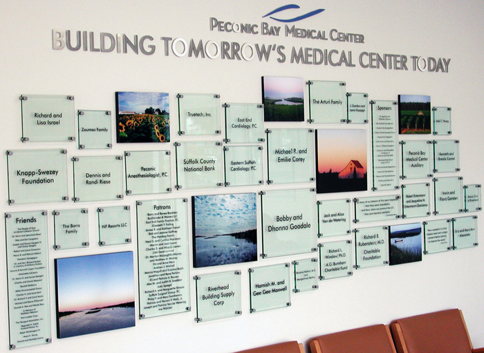 Glass Images - Peconic Bay Medical Center