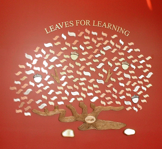 Leaves for Learning Model 485-6 -