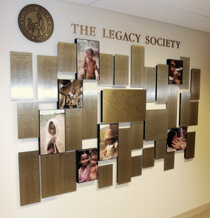 Legacy Society - Catholic Mission Medical Board