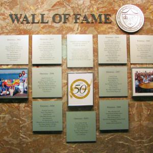 Click to Enlarge Wall of Fame