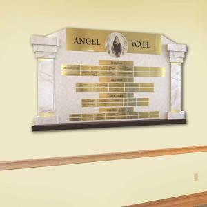 Click to Enlarge Angel Wall