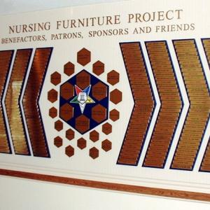 Click to Enlarge Nursing Furniture Project