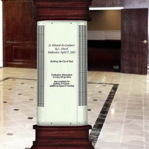 Click to Enlarge Free Standing Pillar