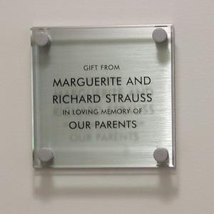 Click to Enlarge SC45 Glass Plaque
