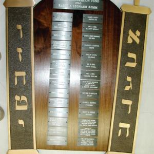 Click to Enlarge Curved Torah