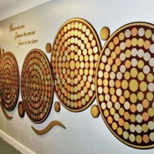 Click to Enlarge Mahogany Circles