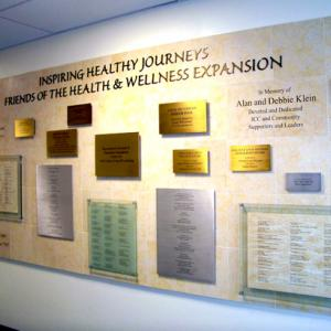 Click to Enlarge Healthy Journeys Donor Wall